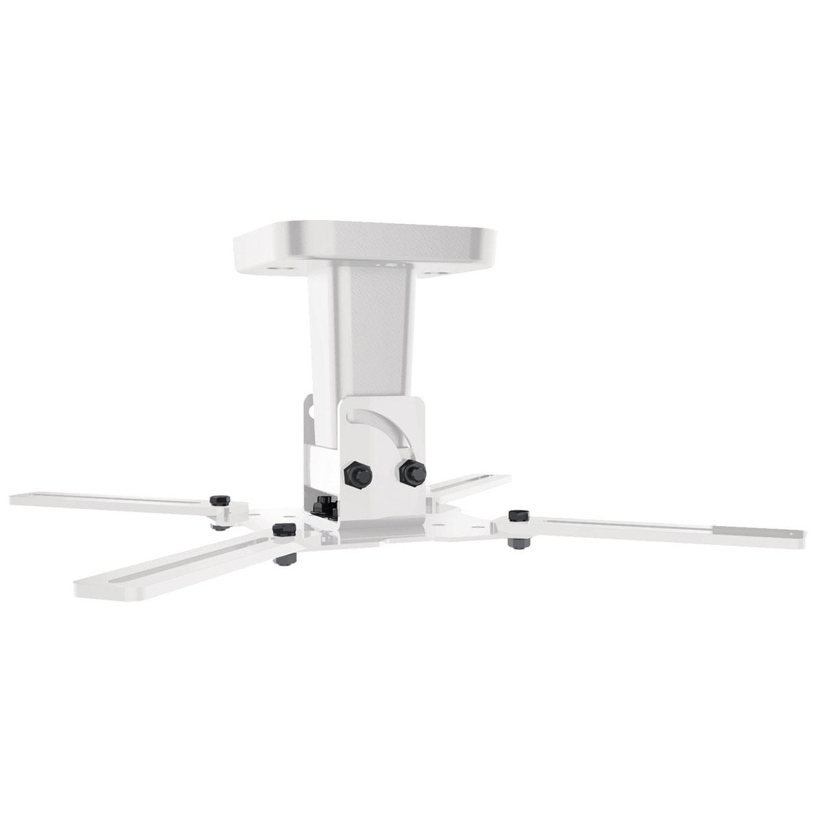 meliconi pro 100 blanc support plafond vid oprojecteur. Black Bedroom Furniture Sets. Home Design Ideas