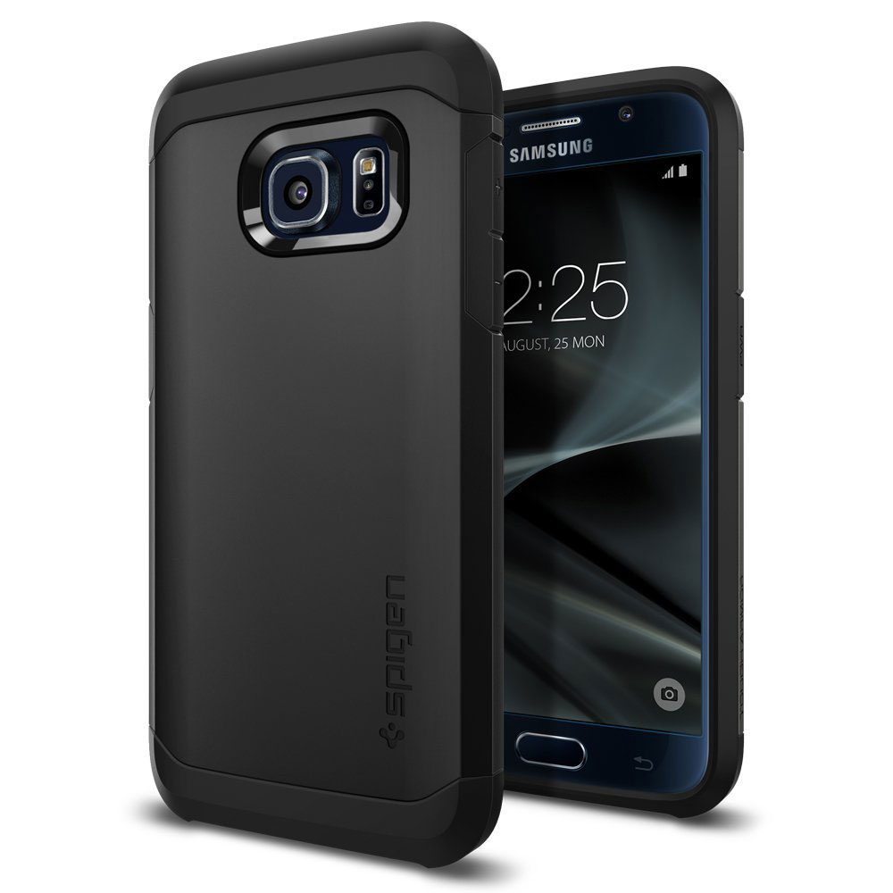 spigen case tough armor noir samsung galaxy s7 etui t l phone spigen sur. Black Bedroom Furniture Sets. Home Design Ideas