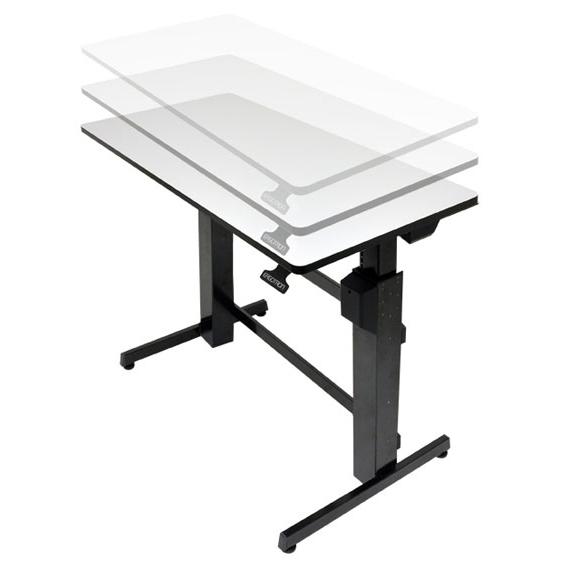 Exceptionnel Ergotron WorkFit-D bureau assis/debout - Meuble ordinateur  NP39
