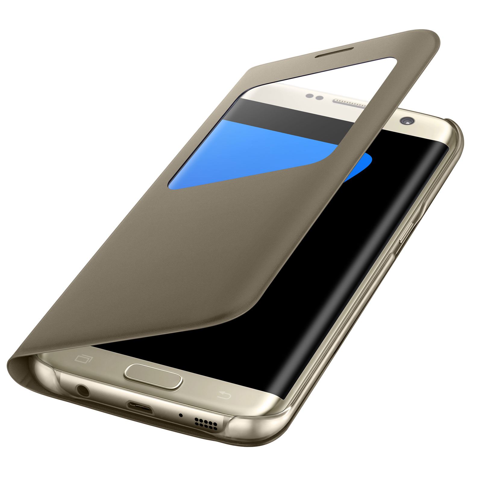 buy good closer at special section Samsung S-View Or Samsung Galaxy S7 Edge
