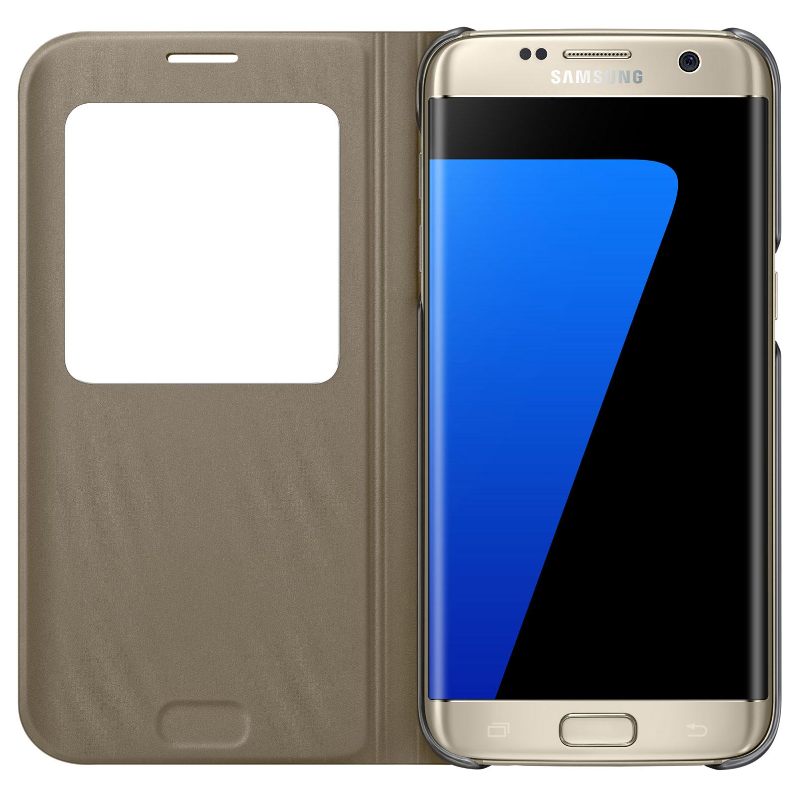 Samsung S-View Or Samsung Galaxy S7 Edge - Etui téléphone Samsung sur  LDLC.com 6e31fcb6e0cf