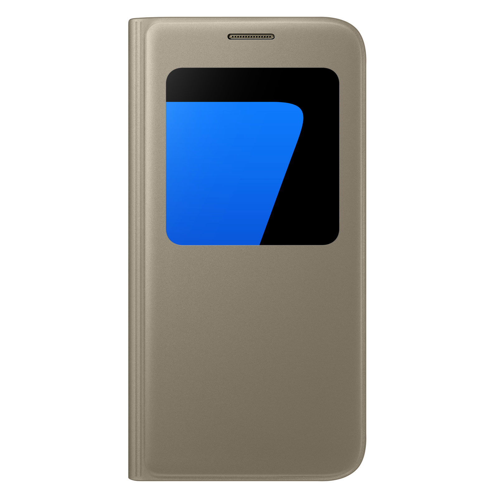 Etui téléphone Samsung S-View Or Samsung Galaxy S7 Etui folio pour Samsung  Galaxy S7 8fd0ad7ce8c1