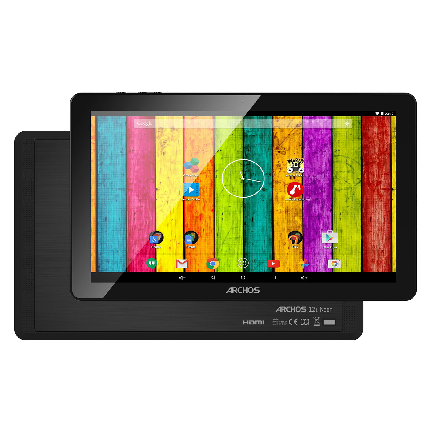 archos 121 neon 16 go tablette tactile archos sur. Black Bedroom Furniture Sets. Home Design Ideas