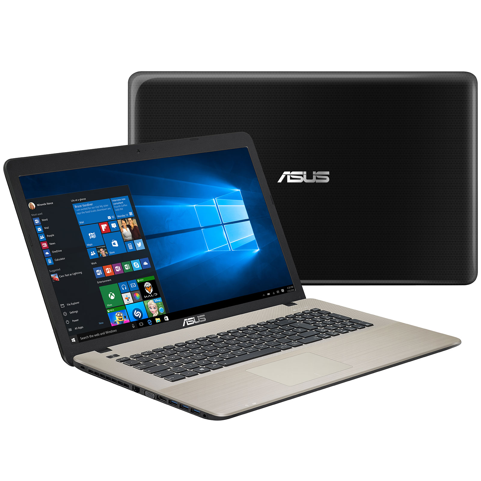asus x752lj ty358t pc portable asus sur. Black Bedroom Furniture Sets. Home Design Ideas