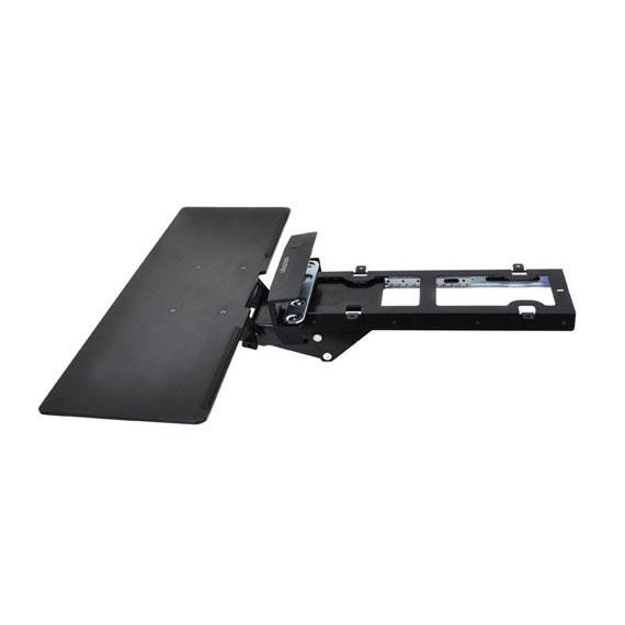ergotron bras pour clavier sous bureau neo flex bras pied ergotron sur. Black Bedroom Furniture Sets. Home Design Ideas
