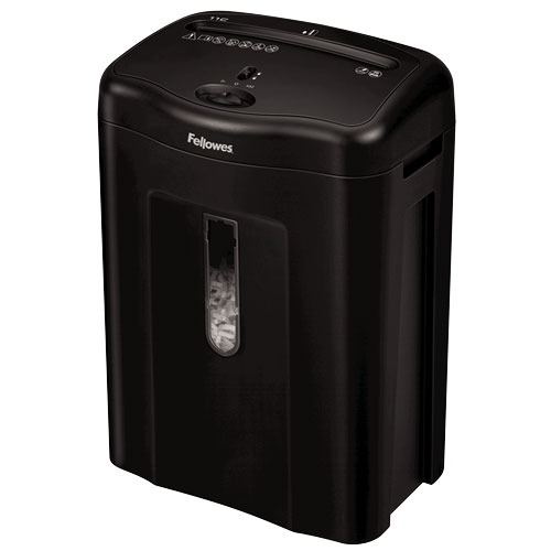 fellowes destructeur coupe croisée powershred 11c - destructeur de