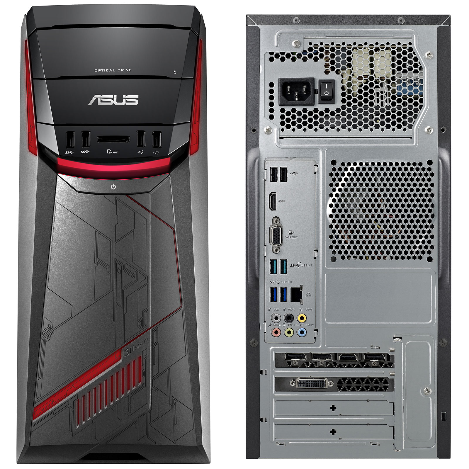 asus g11cd k fr048t pc de bureau asus sur. Black Bedroom Furniture Sets. Home Design Ideas
