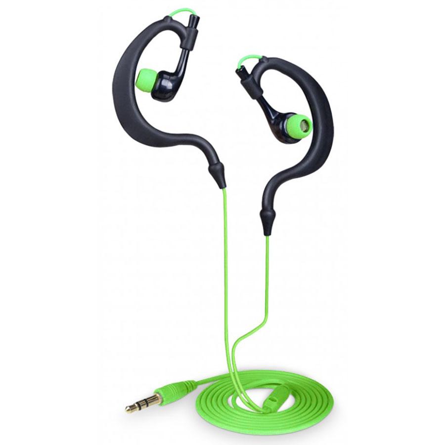 Mr handsfree sports headset noir et vert casque mr for Le meuble headsets