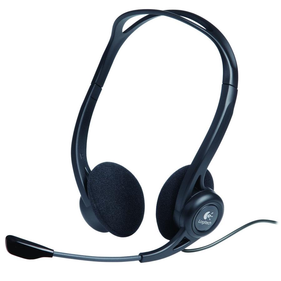 logitech pc headset 860 micro casque logitech sur. Black Bedroom Furniture Sets. Home Design Ideas