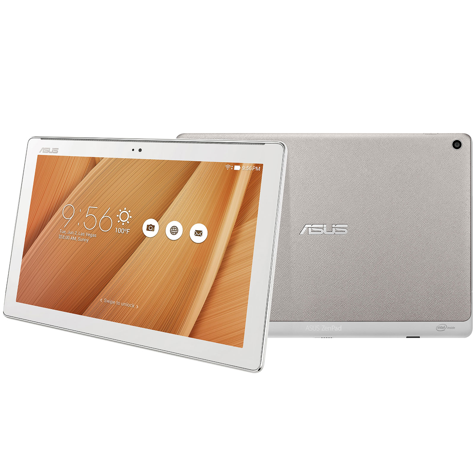 asus zenpad 10 z300cx 1l003a m tal tablette tactile asus sur. Black Bedroom Furniture Sets. Home Design Ideas