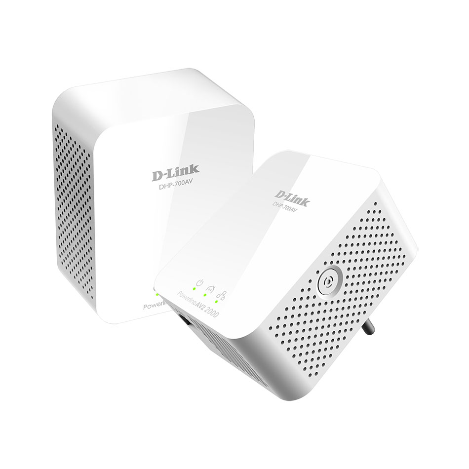 CPL D-Link DHP-701AV Kit CPL AV2 2000 HD Gigabits