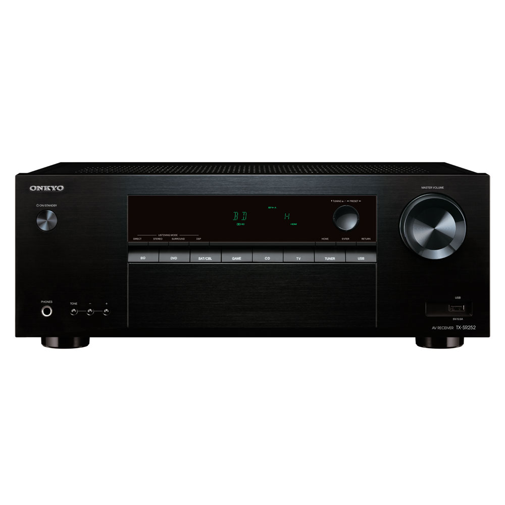 onkyo tx sr252 ampli home cin ma onkyo sur. Black Bedroom Furniture Sets. Home Design Ideas