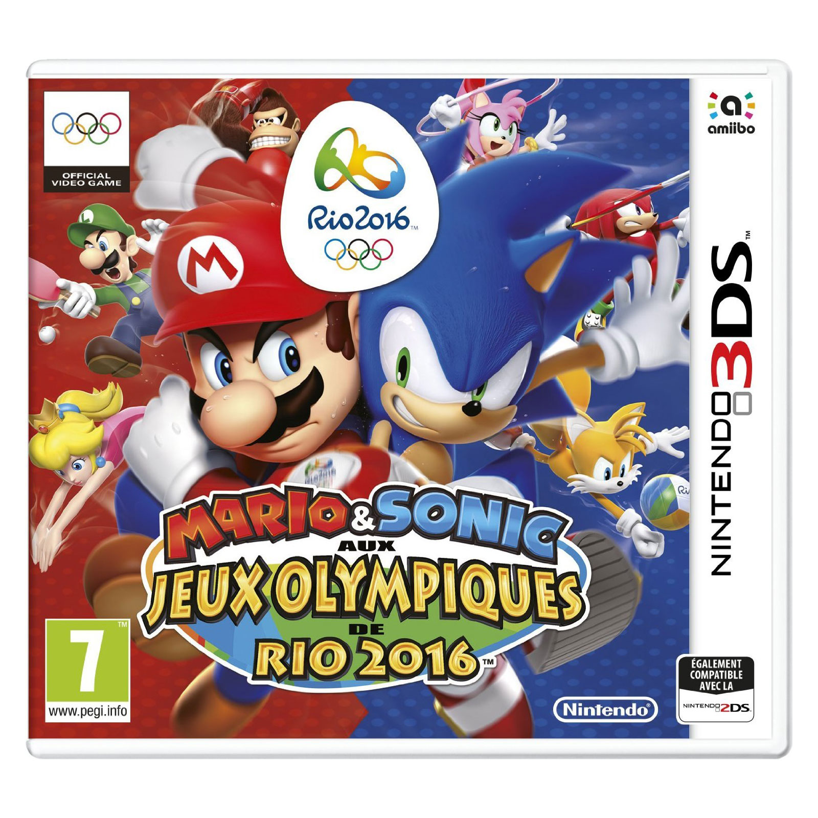 mario sonic aux jeux olympiques de rio 2016 nintendo 3ds 2ds jeux nintendo 3ds nintendo. Black Bedroom Furniture Sets. Home Design Ideas