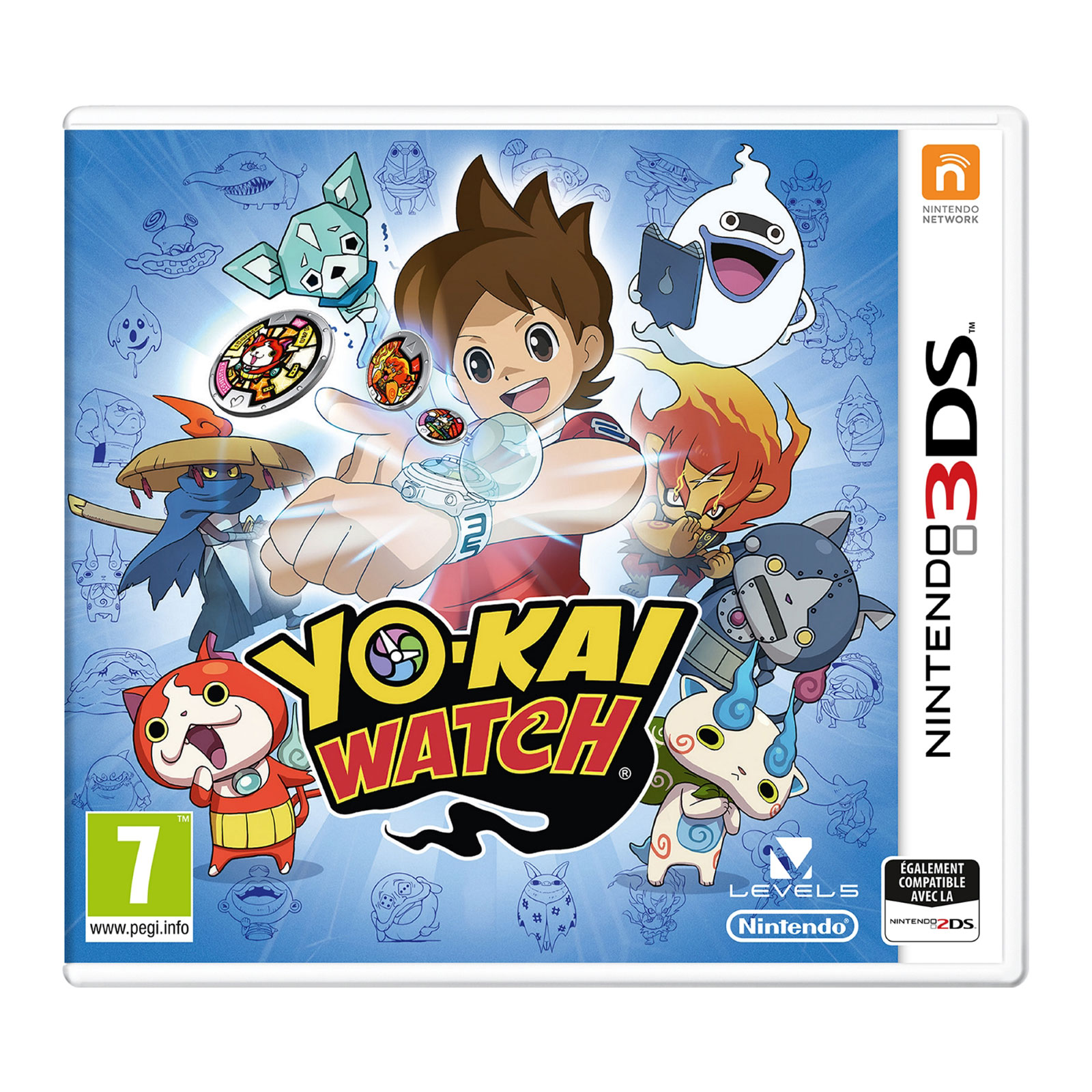 yo kai watch nintendo 3ds jeux nintendo 3ds nintendo sur. Black Bedroom Furniture Sets. Home Design Ideas
