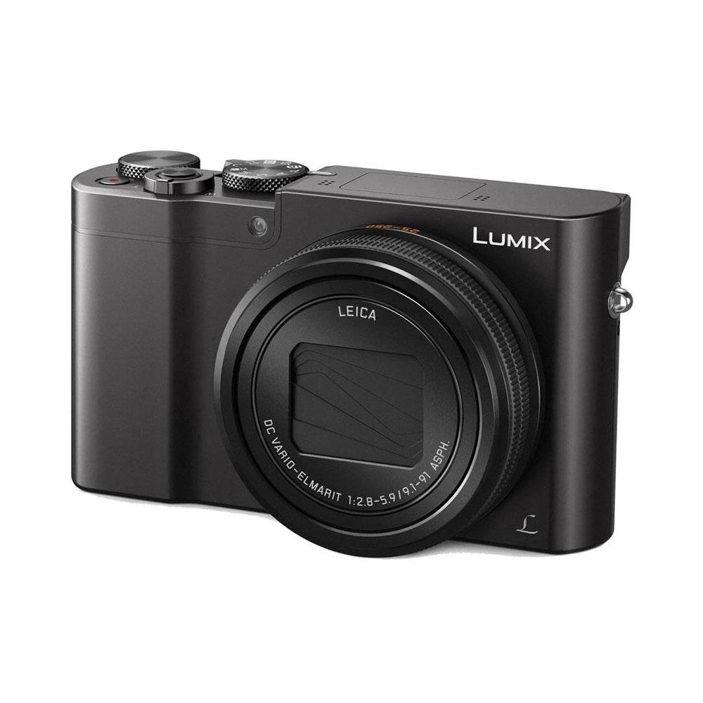 Appareil photo numérique Panasonic DMC-TZ100 Noir Appareil photo 20.1 MP - Zoom optique 10x - Vidéo 4K - Wi-Fi