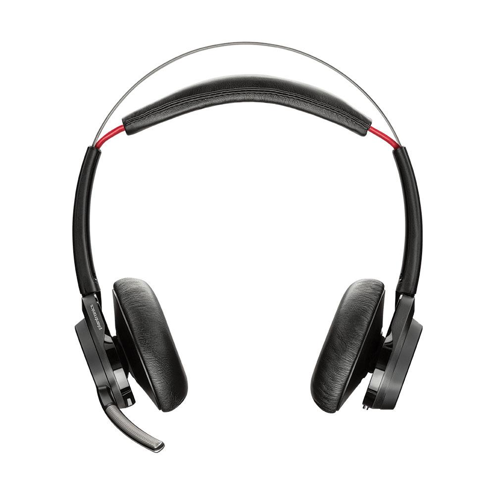 Kit piéton et Casque Plantronics Voyager Focus UC B825-M No Stand Casque-micro stéréo Bluetooth avec annulation de bruit pour Microsoft Lync