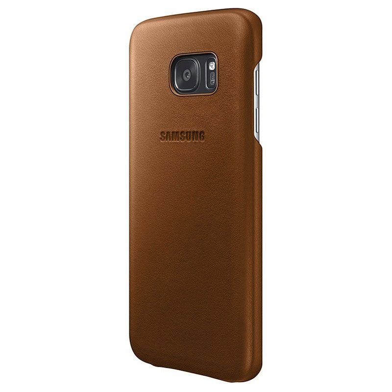 coque samsung s7 marron