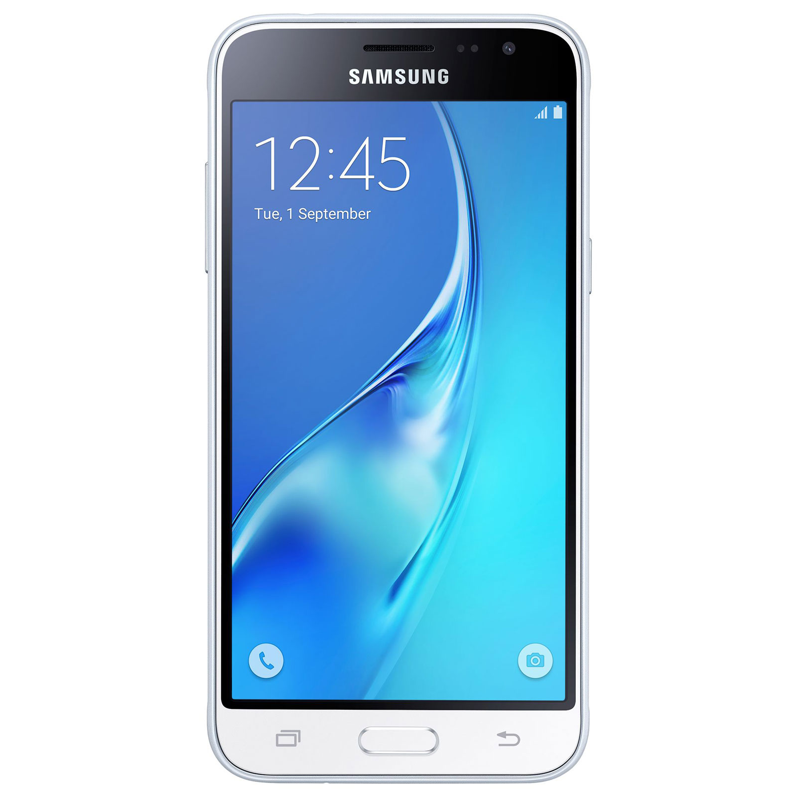 samsung galaxy j3 2016 blanc mobile smartphone samsung sur. Black Bedroom Furniture Sets. Home Design Ideas