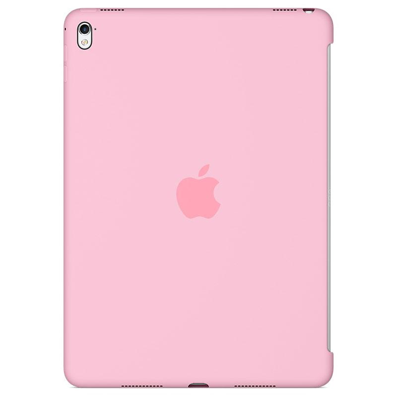 """Accessoires Tablette Apple iPad Pro 9.7"""" Silicone Case Rose Protection arrière en silicone pour iPad Pro 9.7"""""""