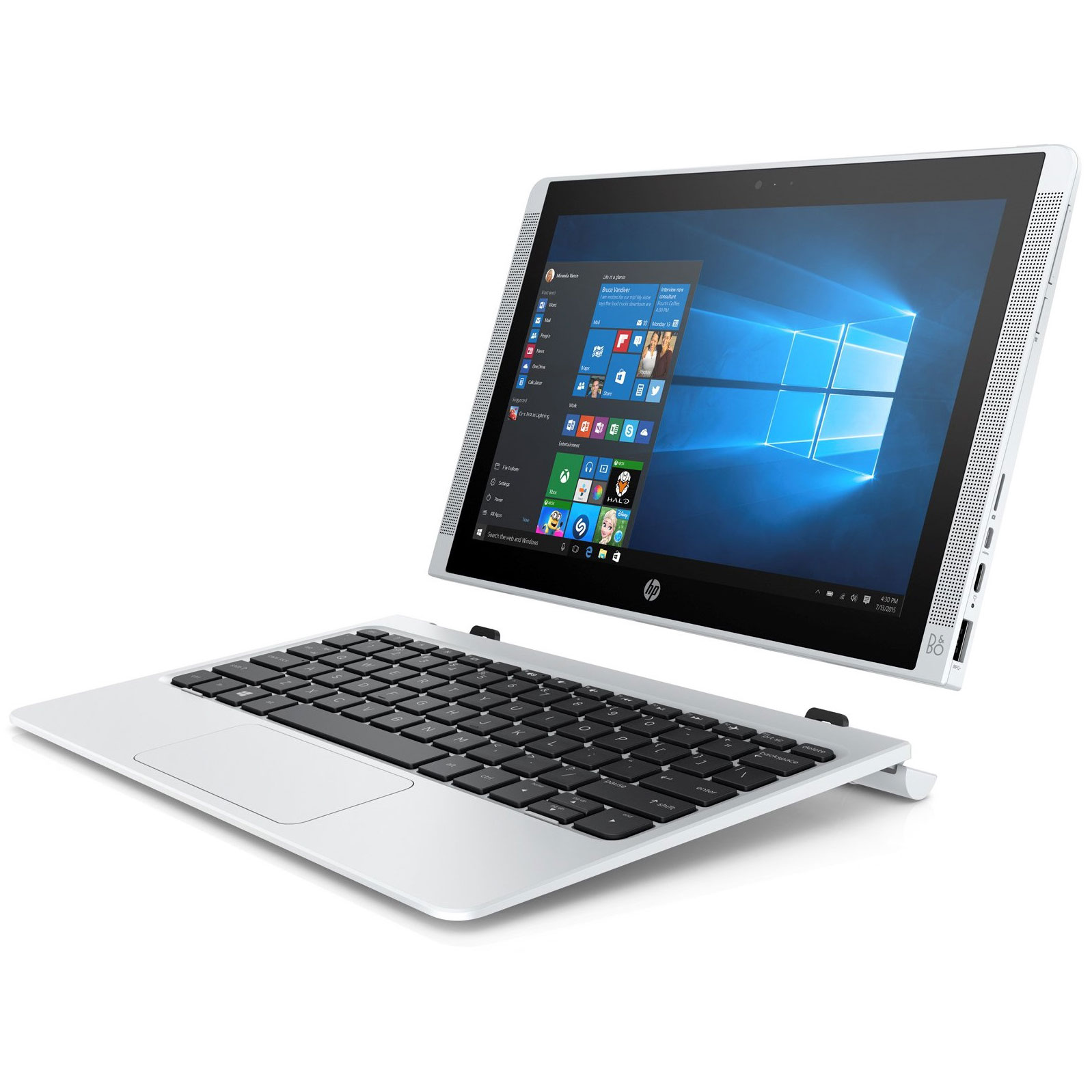 hp pavilion x2 10 n141nf pc portable hp sur. Black Bedroom Furniture Sets. Home Design Ideas