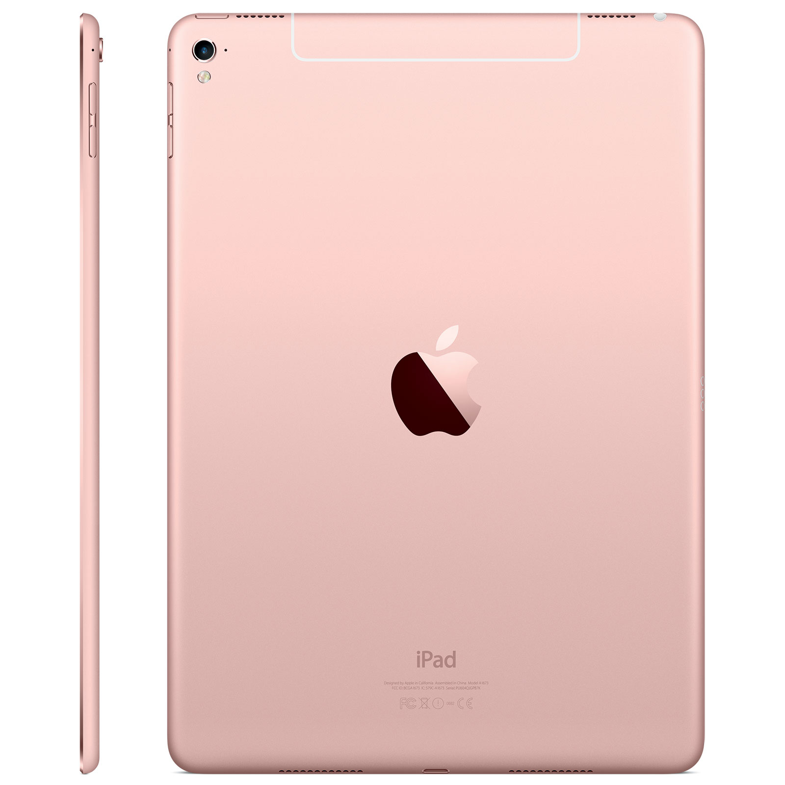 apple ipad pro 9 7 wi fi 32 go rose tablette tactile apple sur. Black Bedroom Furniture Sets. Home Design Ideas