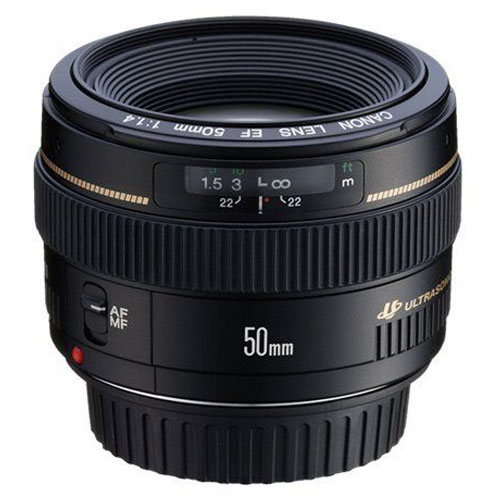 Objectif appareil photo Canon EF 50mm f/1.4 USM Objectif expert