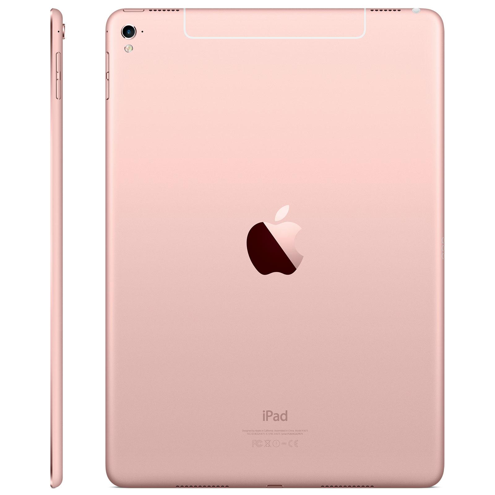 apple ipad pro 9 7 wi fi cellular 128 go rose. Black Bedroom Furniture Sets. Home Design Ideas