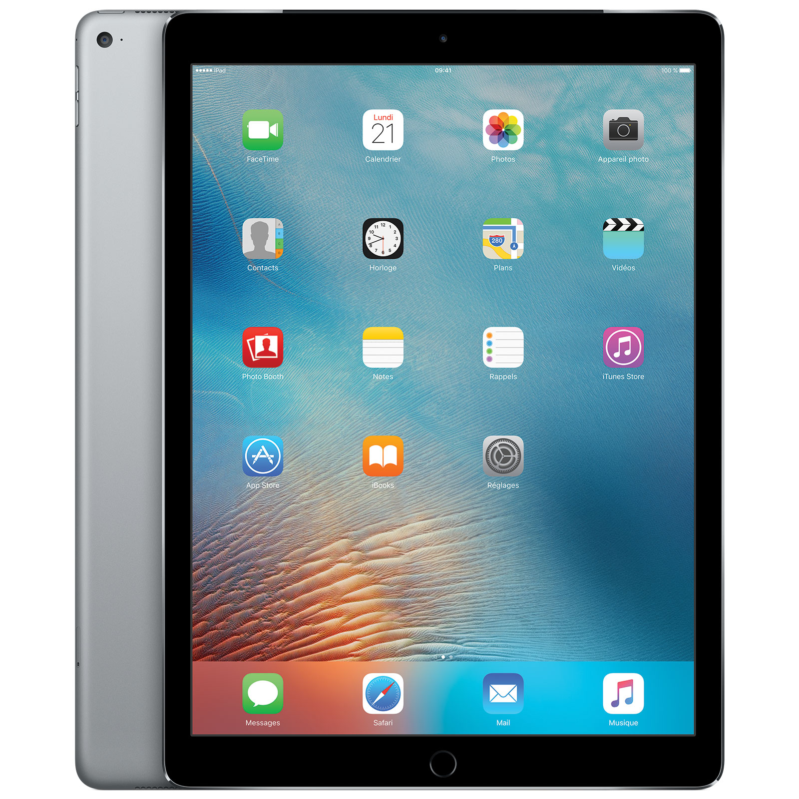 apple ipad pro 12 9 wi fi 256 go gris sid ral tablette. Black Bedroom Furniture Sets. Home Design Ideas