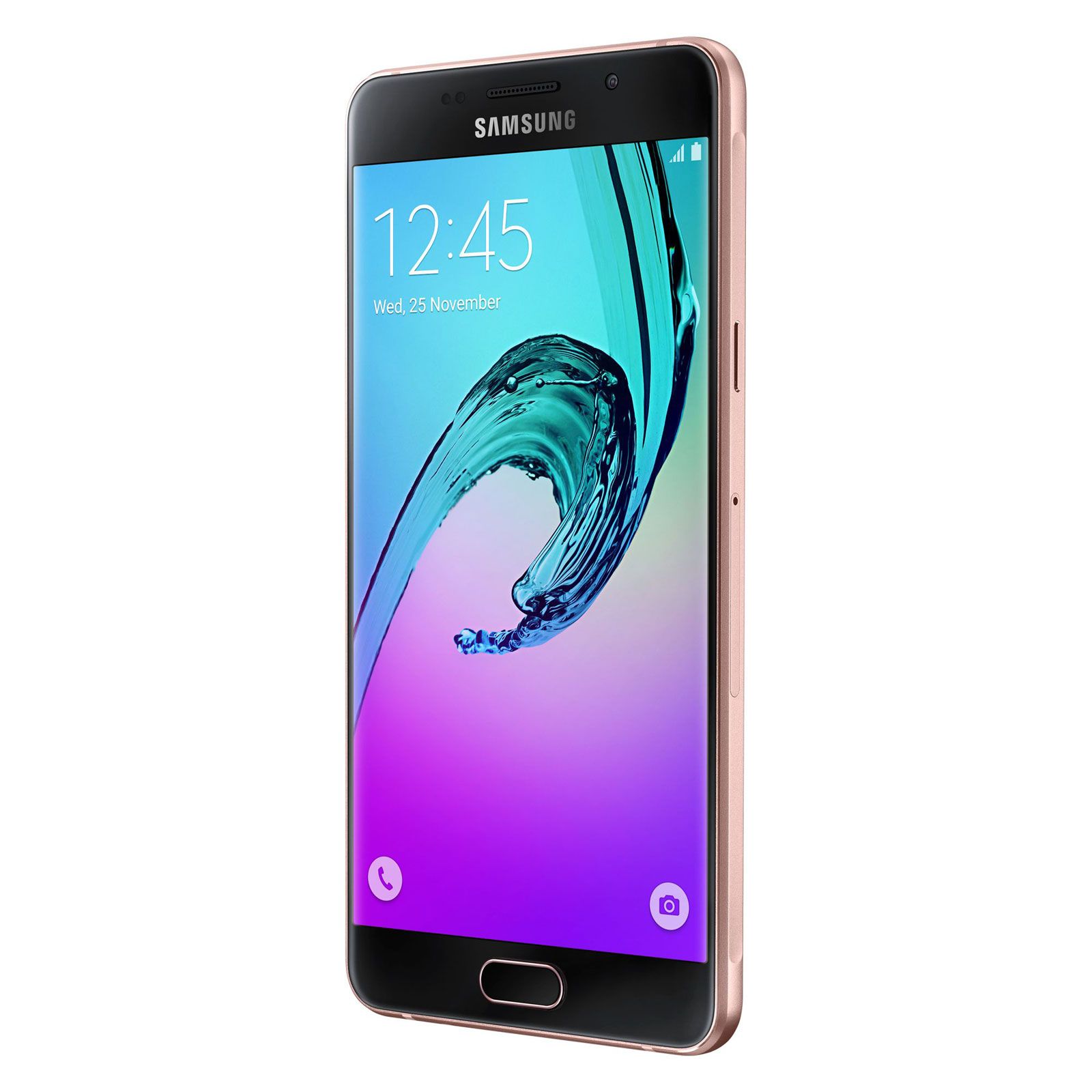Samsung galaxy a5 2016 rose or mobile smartphone for Photo ecran samsung a5