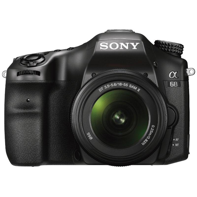 Sony alpha 68 objectif 18 55 mm appareil photo reflex for Ecran photo sony