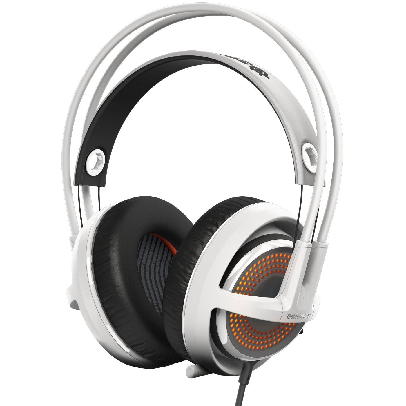 steelseries siberia 350 blanc micro casque steelseries sur. Black Bedroom Furniture Sets. Home Design Ideas