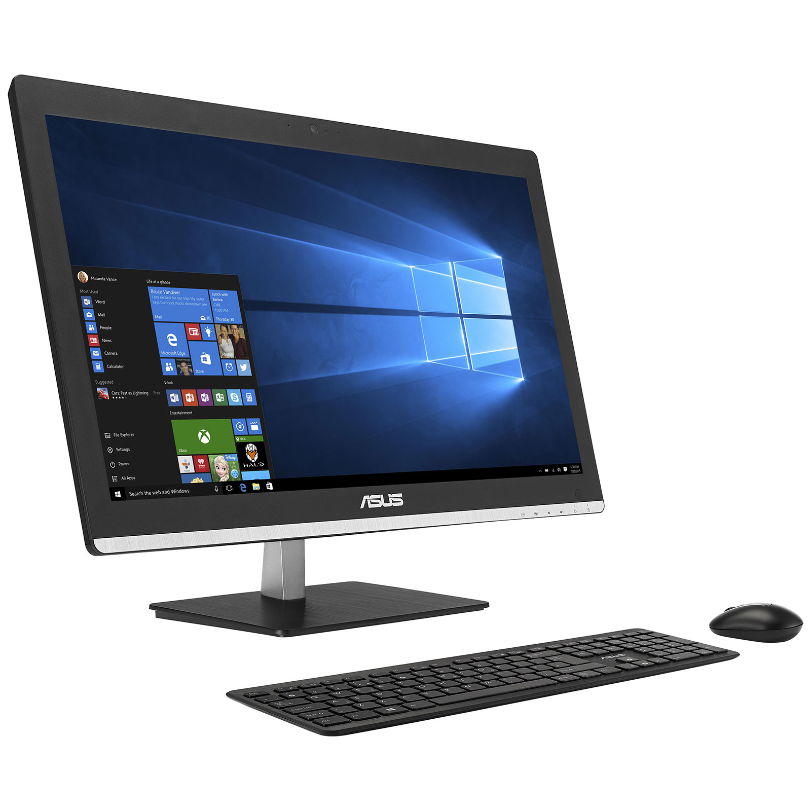 asus vivo aio v220ibuk bc033x pc de bureau asus sur. Black Bedroom Furniture Sets. Home Design Ideas