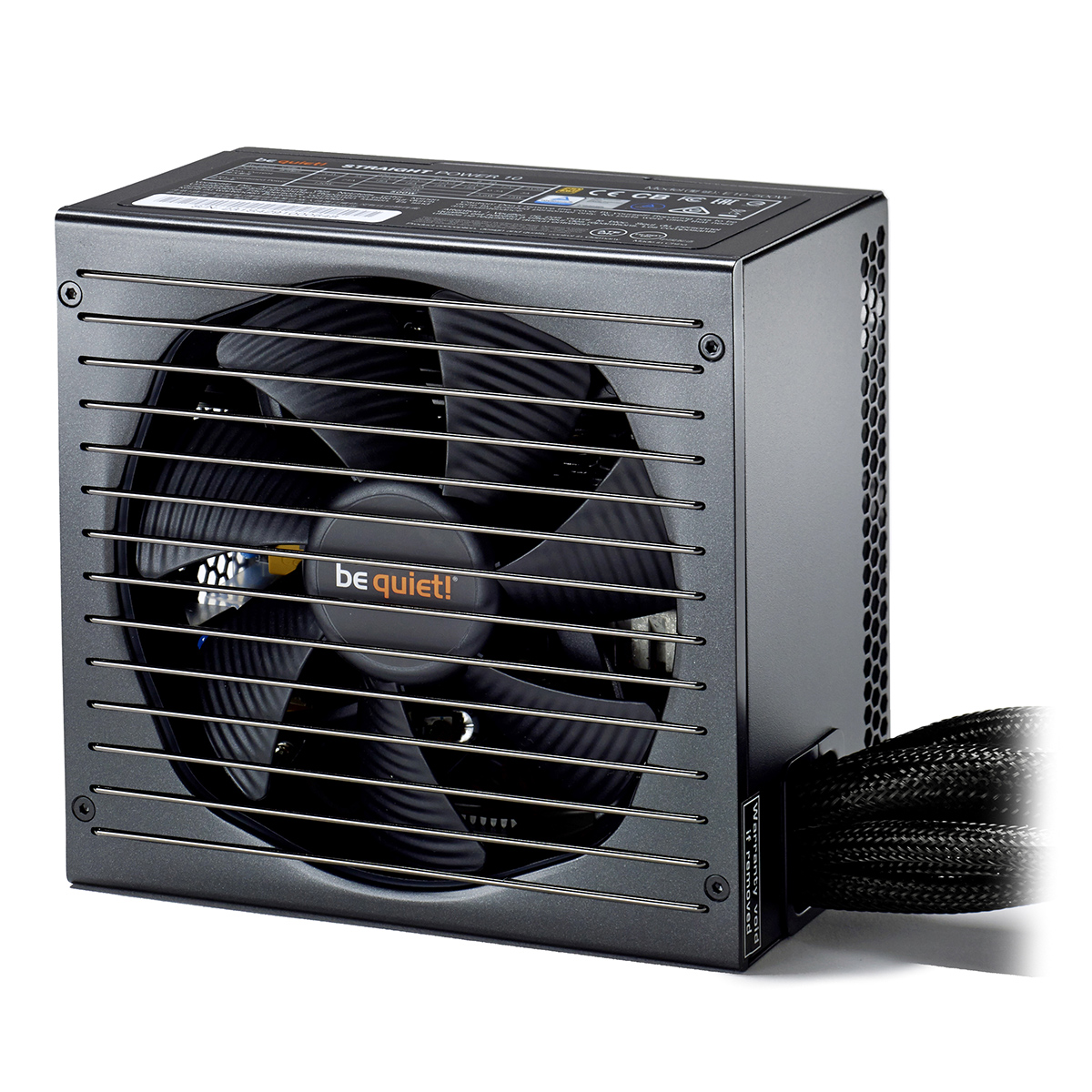 Alimentation PC be quiet! Straight Power 10 600W 80PLUS Gold Alimentation 600W ATX 12V 2.4/ EPS 12V 2.92 (Garantie 5 ans par Be Quiet !)