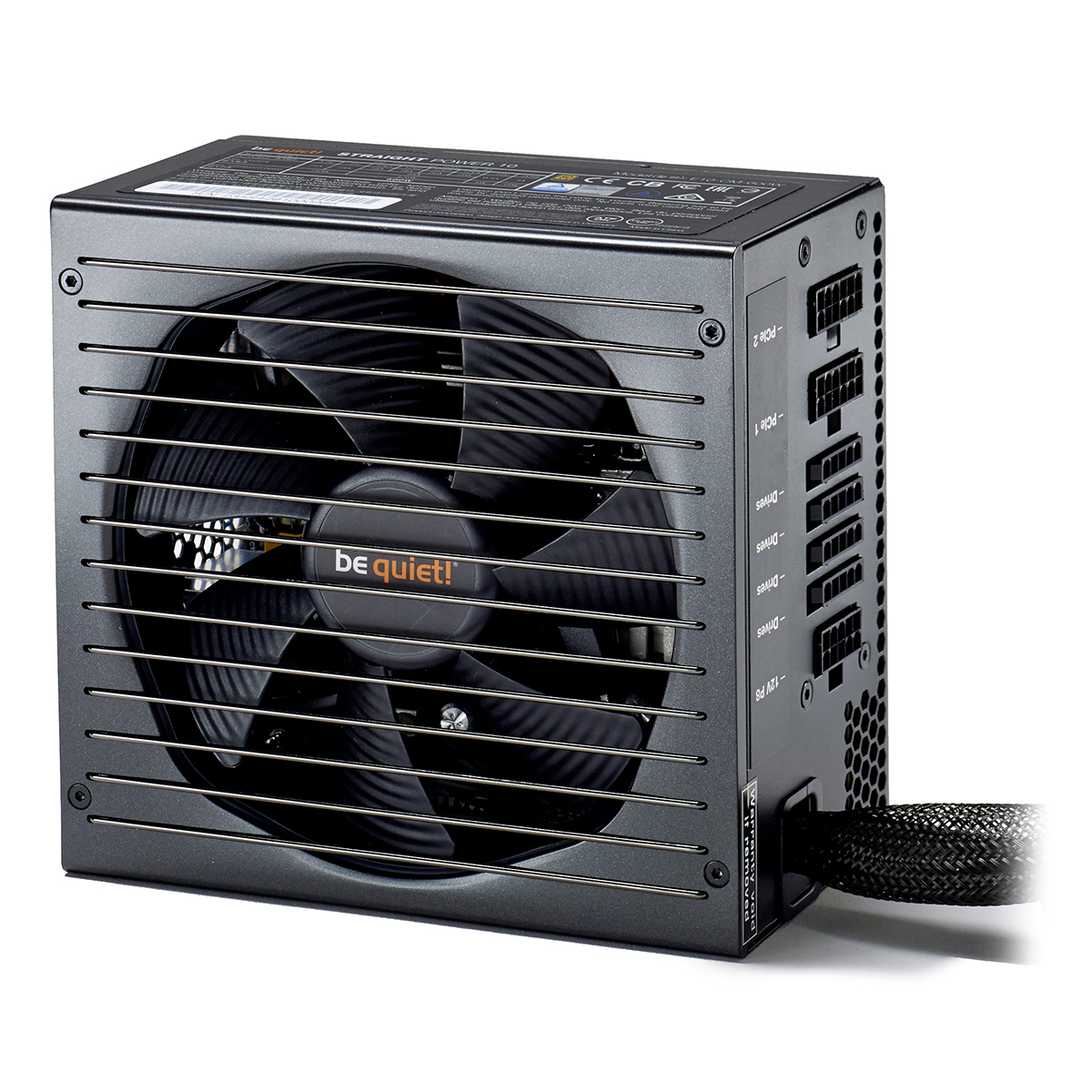 Alimentation PC be quiet! Straight Power 10 500W CM 80PLUS Gold Alimentation modulaire 500W ATX 12V 2.4/ EPS 12V 2.92 (Garantie 5 ans par Be Quiet !)