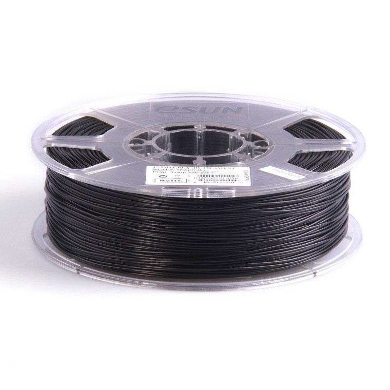 filament pla 3mm 2 3kg pour imprimante 3d noir filament 3d g n rique sur. Black Bedroom Furniture Sets. Home Design Ideas