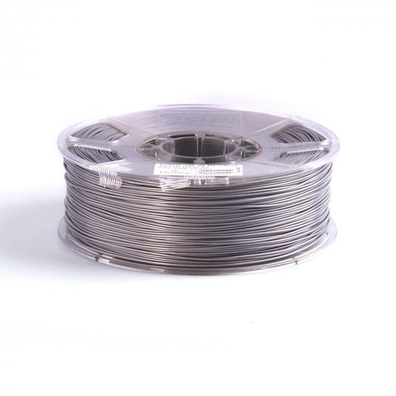 Filament pla 3mm 1kg pour imprimante 3d argent filament 3d g n rique sur - Filament imprimante 3d ...