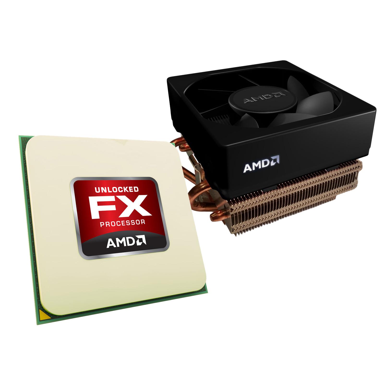 Processeur AMD FX 6350 Wraith Cooler Edition (3.9 GHz) Processeur 6-Core socket AM3+ Cache L3 8 Mo 0.032 micron TDP 125W avec système de refroidissement (version boîte - garantie constructeur 3 ans)