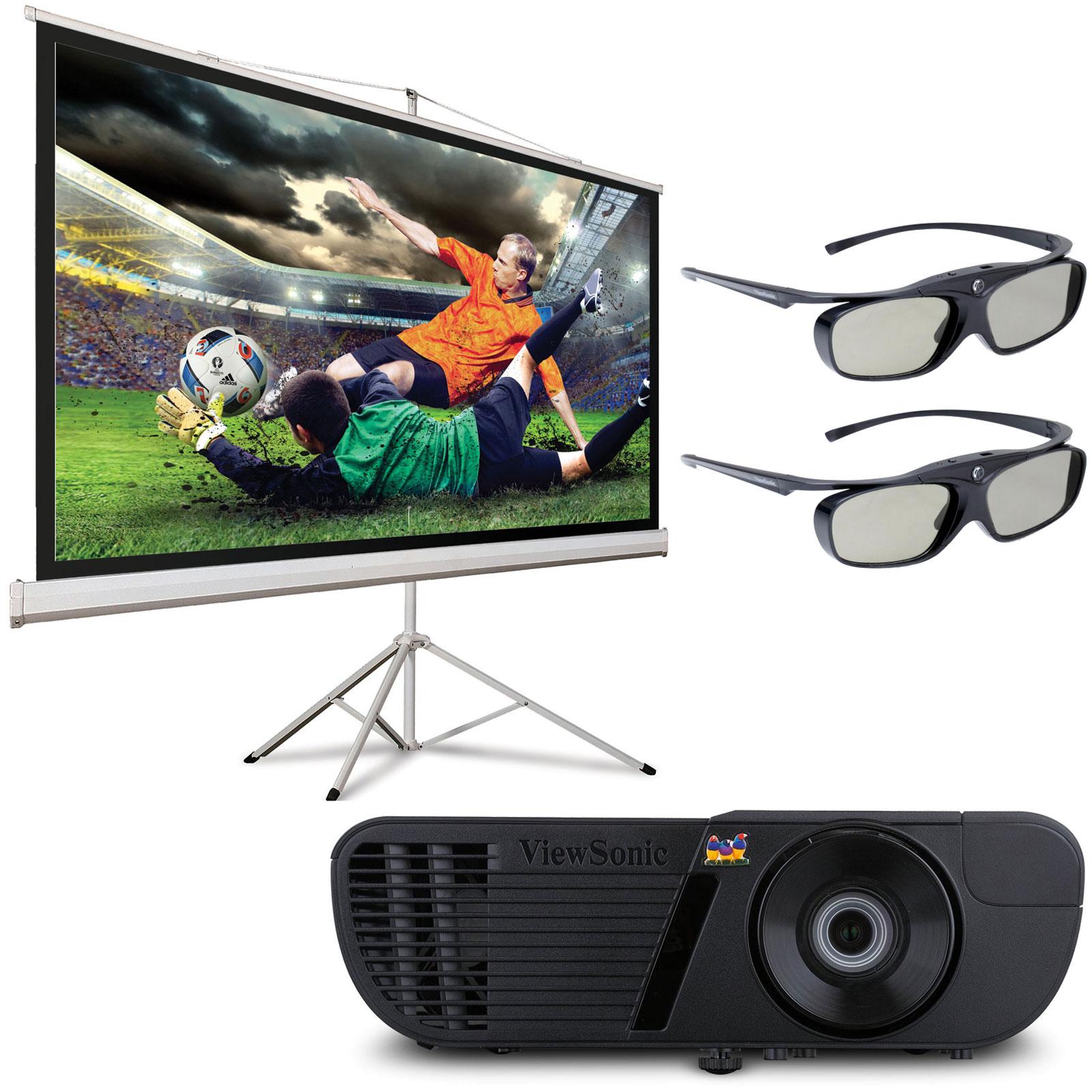 viewsonic pro7827 hd pj sct 1000w 2 paires de lunettes 3d vid oprojecteur viewsonic sur. Black Bedroom Furniture Sets. Home Design Ideas