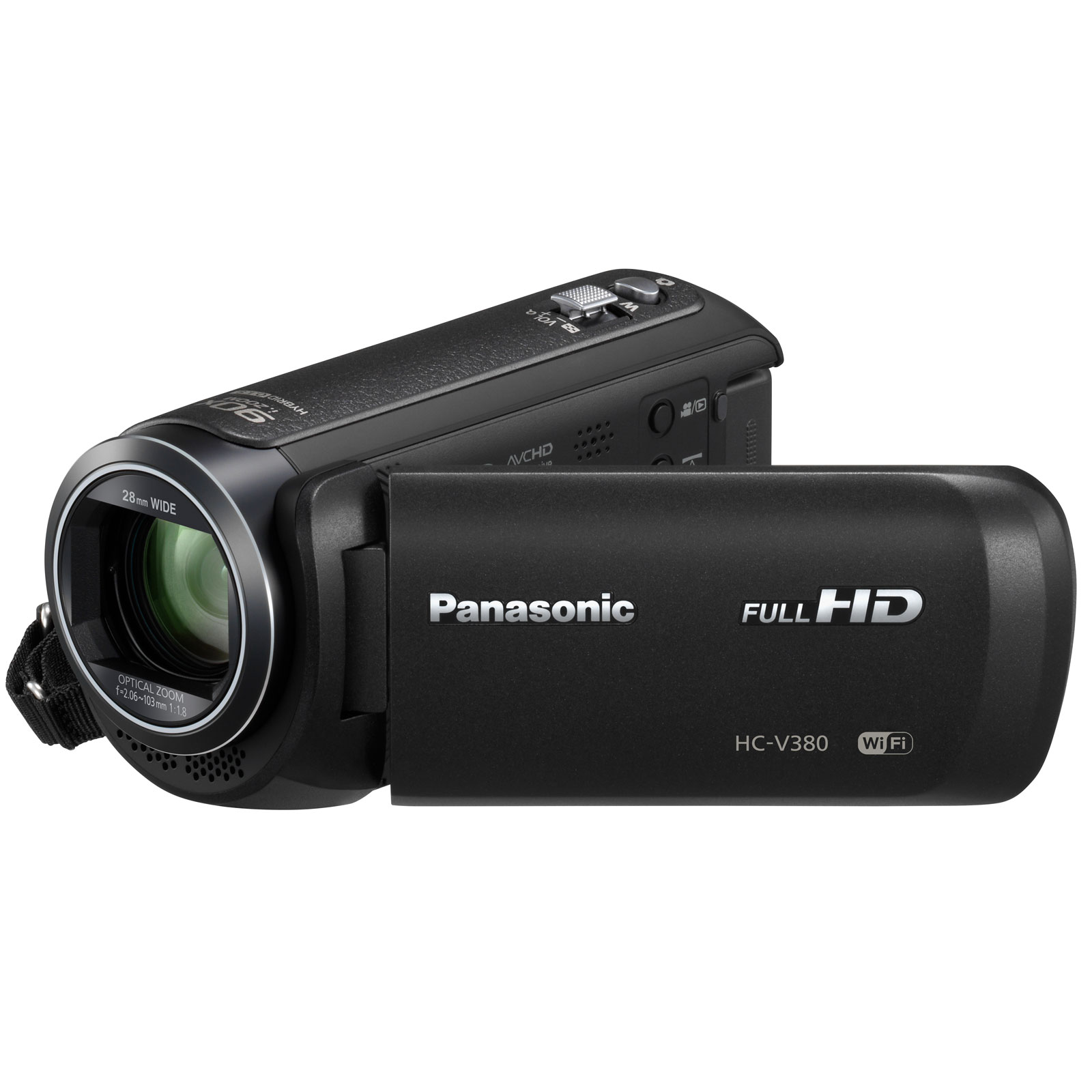 panasonic hc v380ef k cam scope num rique panasonic sur. Black Bedroom Furniture Sets. Home Design Ideas