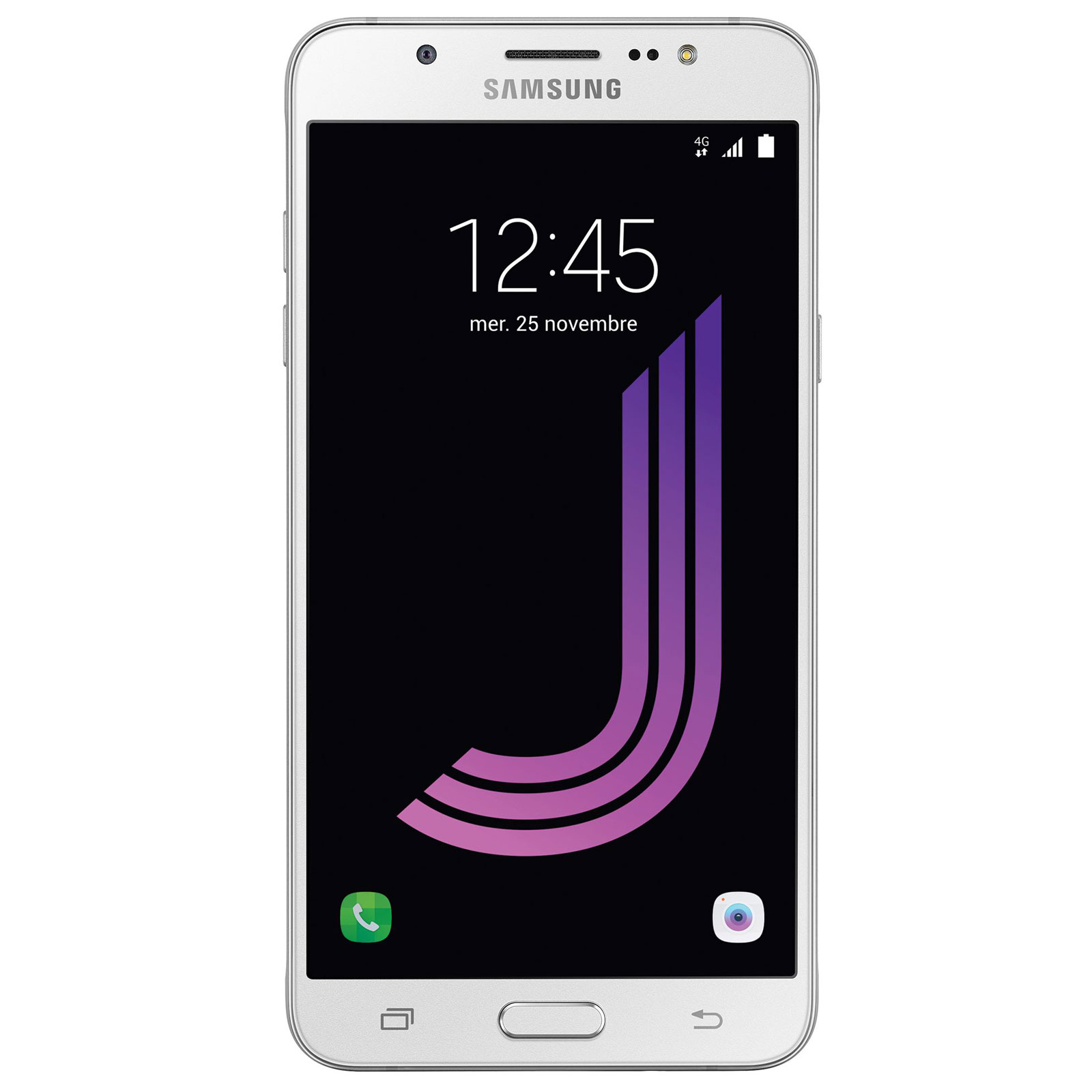 Mobile   smartphone Samsung Galaxy J7 2016 Blanc Smartphone 4G-LTE - ARM  Cortex- f5dce152c77a