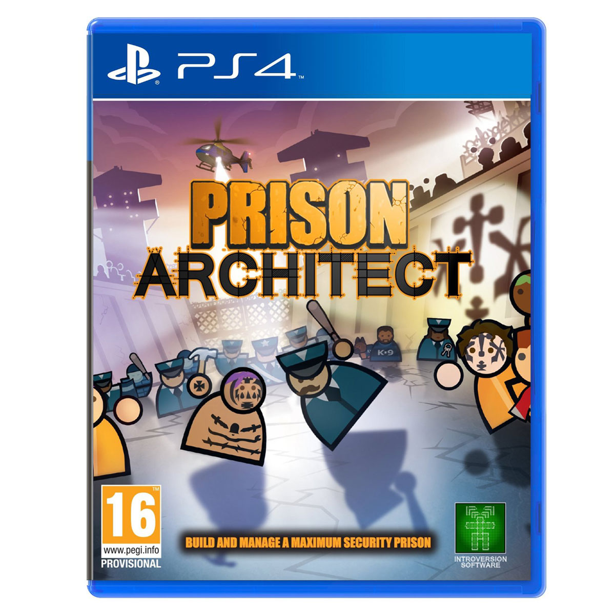 prison architect ps4 jeux ps4 introversion software sur. Black Bedroom Furniture Sets. Home Design Ideas
