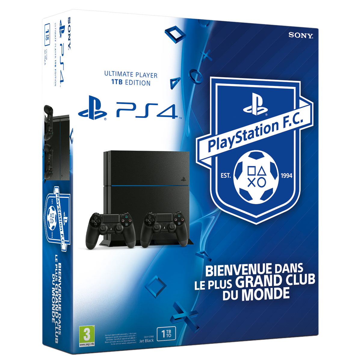 sony playstation 4 playstation football club 1 to. Black Bedroom Furniture Sets. Home Design Ideas