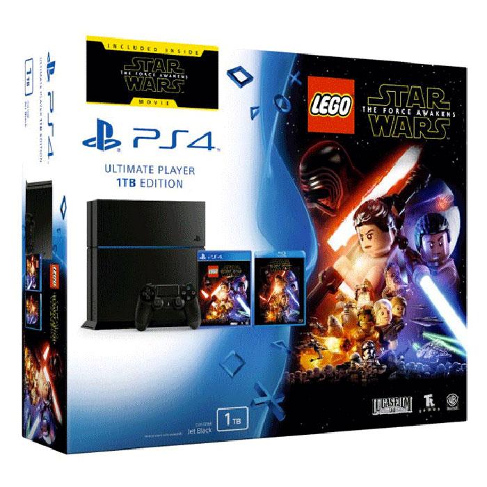 Sony PlayStation 4 (1 To) + Lego Star Wars : Le réveil de