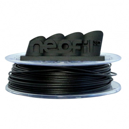 Filament 3D Neofil3D Bobine Carbone-P 2.85mm 500g - Gris Bobine de PET-G et fibres de carbone 2.85mm pour imprimante 3D