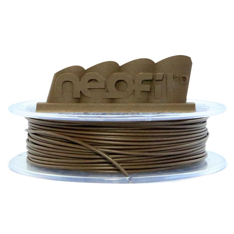 Filament 3D Neofil3D Bobine PLA modifié 2.85mm 500g - Bois Foncé Bobine 2.85mm pour imprimante 3D
