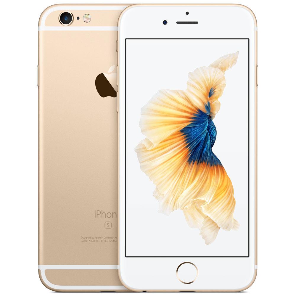 "Mobile & smartphone Apple iPhone 6s 128 Go Or Smartphone 4G-LTE Advanced - Apple A9 Triple-Core 1.5 GHz - RAM 2 Go - Ecran Retina 4.7"" 750 x 1334 - 128 Go - NFC/Bluetooth 4.2 - 1715 mAh - iOS 9"