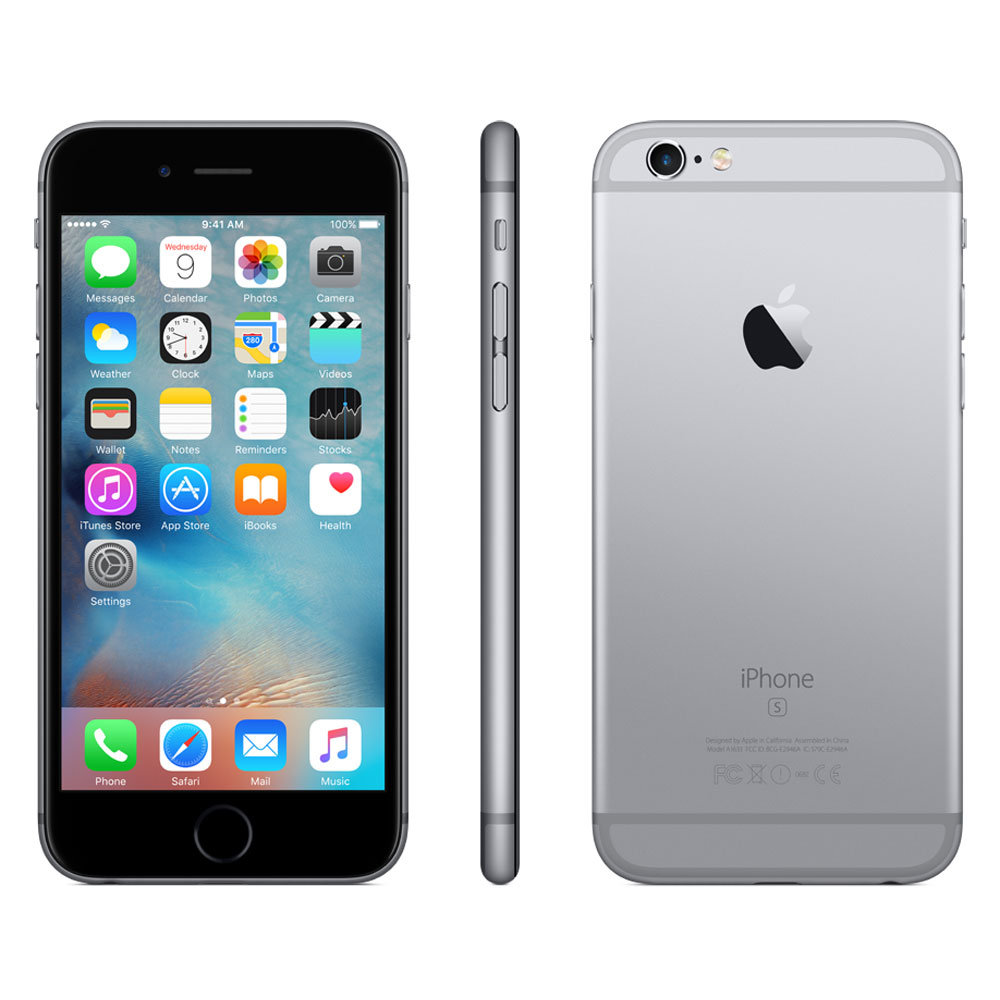 apple iphone 6s 64 go gris sid ral mobile smartphone. Black Bedroom Furniture Sets. Home Design Ideas