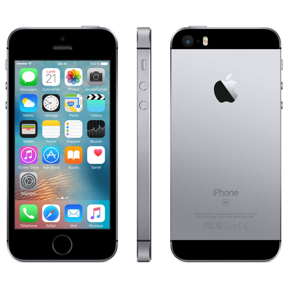 apple iphone se 16 go gris sid ral mobile smartphone apple sur. Black Bedroom Furniture Sets. Home Design Ideas