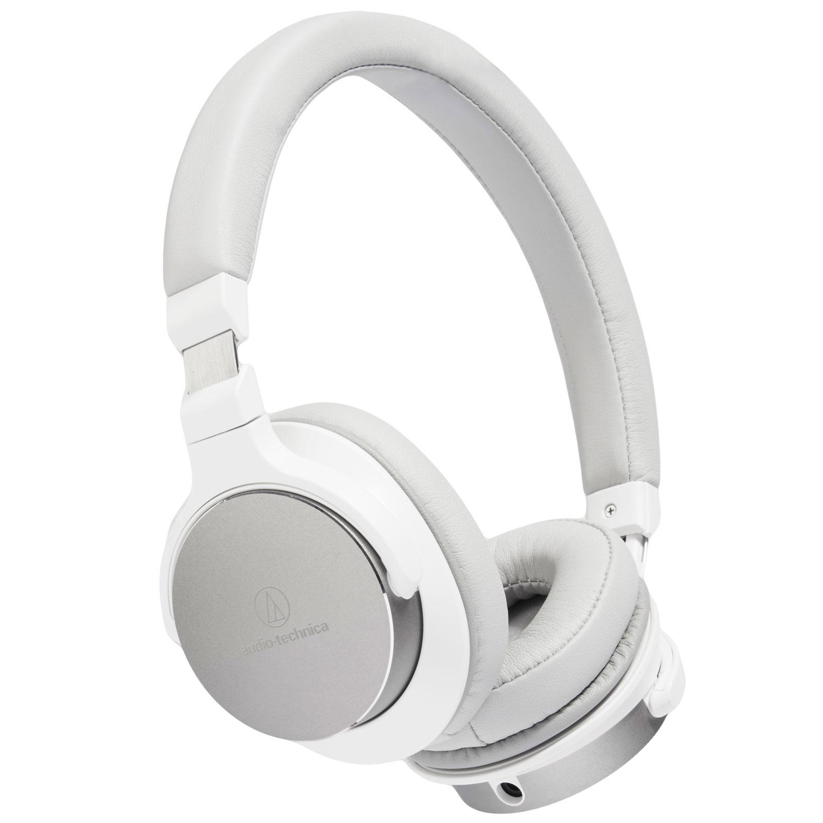 audio technica ath sr5 blanc casque audio technica sur. Black Bedroom Furniture Sets. Home Design Ideas