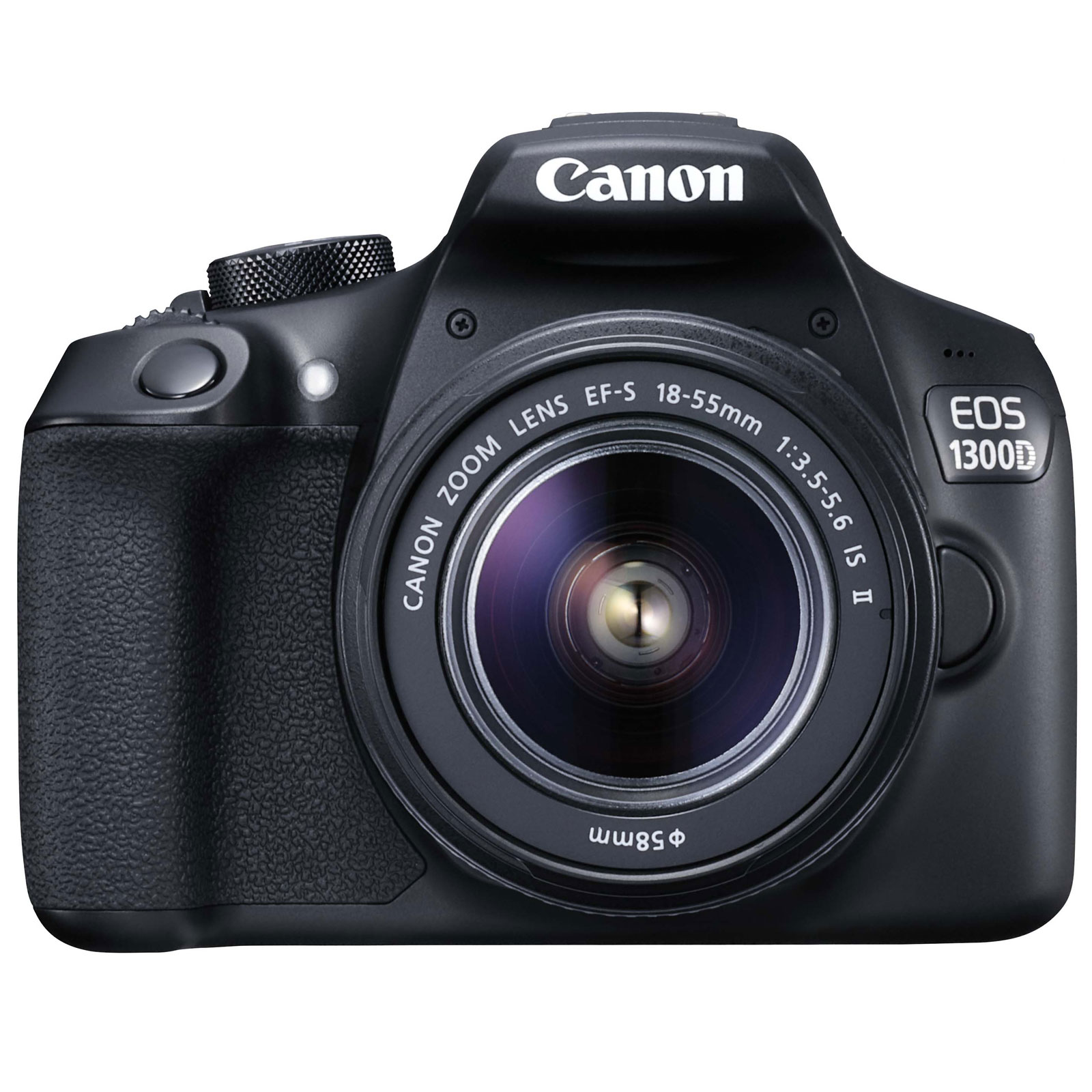 2ff0ad60b7b3af Canon EOS 1300D + EF-S 18-55 mm IS II - Appareil photo Reflex Canon ...